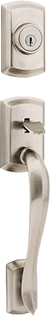 Avalon entry door hardware