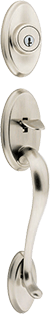 Shelburne entry door hardware