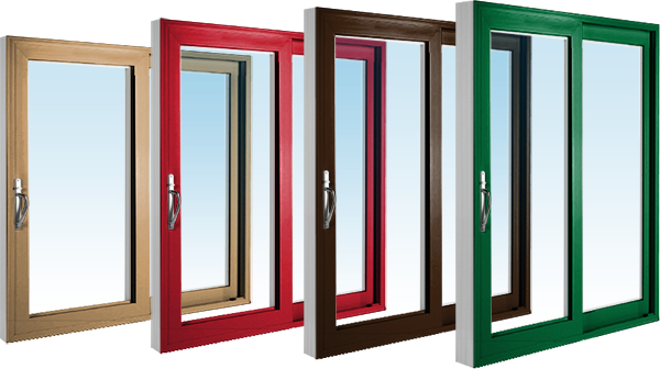 Patio doors in a variety of different finishes