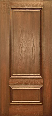 Red Oak front door