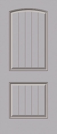 Three Panel Plank Door