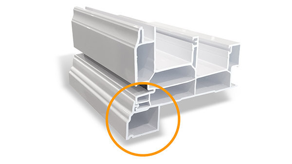 Consumer's Choice double slider windows feature optional added brickmould.