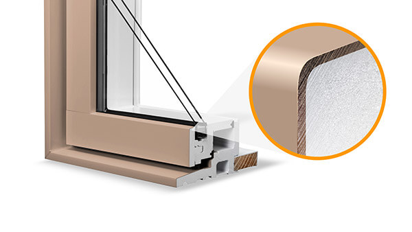 Consumer's Choice awning windows feature durable standard colours.