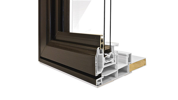 Consumer's Choice double slider windows feature durable standard colours with hybrid aluminium-PVC construction.