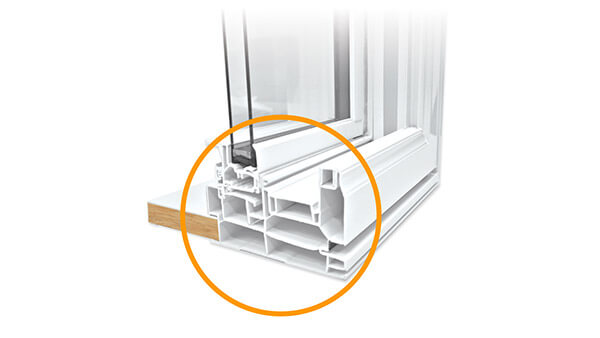 Consumer's Choice double slider windows features multi-chamber construction.