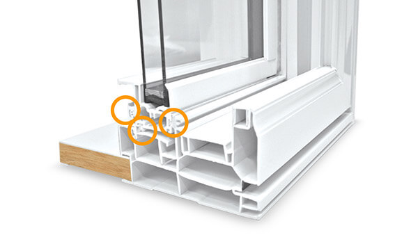 Consumer's Choice double slider windows feature Triple weather seals.