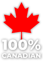 Our windows are 100% Canadian made