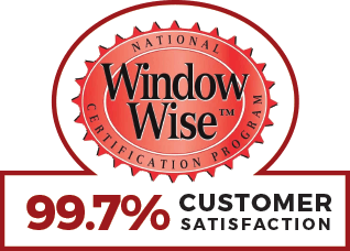 National Window Wise Certification Program: 99.7% Customer Satisfaction