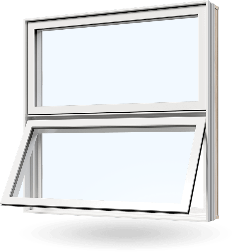 PVC awning windows by Consumer's Choice Windows and Doors
