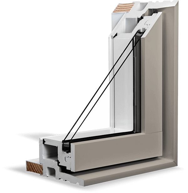 A Clay RevoCell® Window Section.
