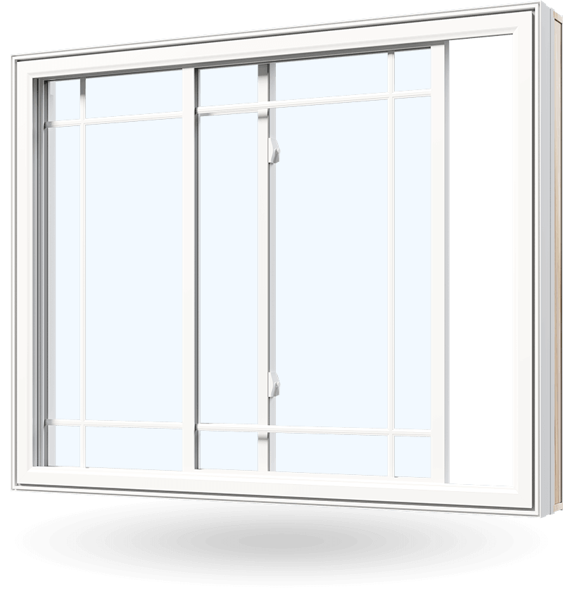 Replacement slider window available as single slider or double sliding window